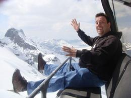 The ice glider! Mount Titlis, Alan S - May 2009