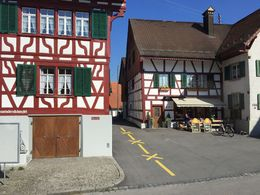 Some of the old houses in the 'Old own' of Zurich , Pabasari G - May 2016