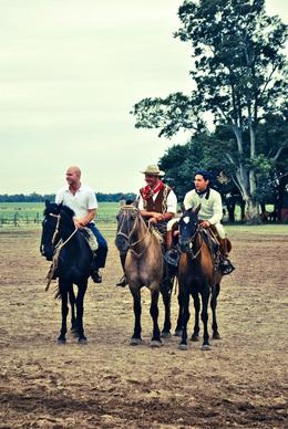 Photo of Buenos Aires Gaucho Day Trip from Buenos Aires: Don Silvano Ranch Tommy and some Gauchos