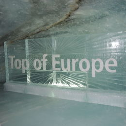 1in the ice tunnel , pam - June 2016