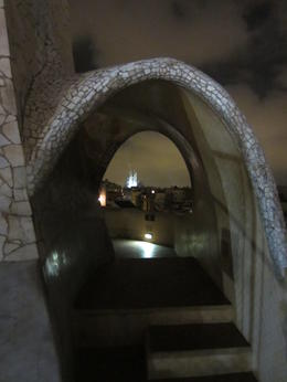 Photo of Barcelona Gaudí's La Pedrera at Night: A Behind-Closed-Doors Tour in Barcelona view from La Pedrera