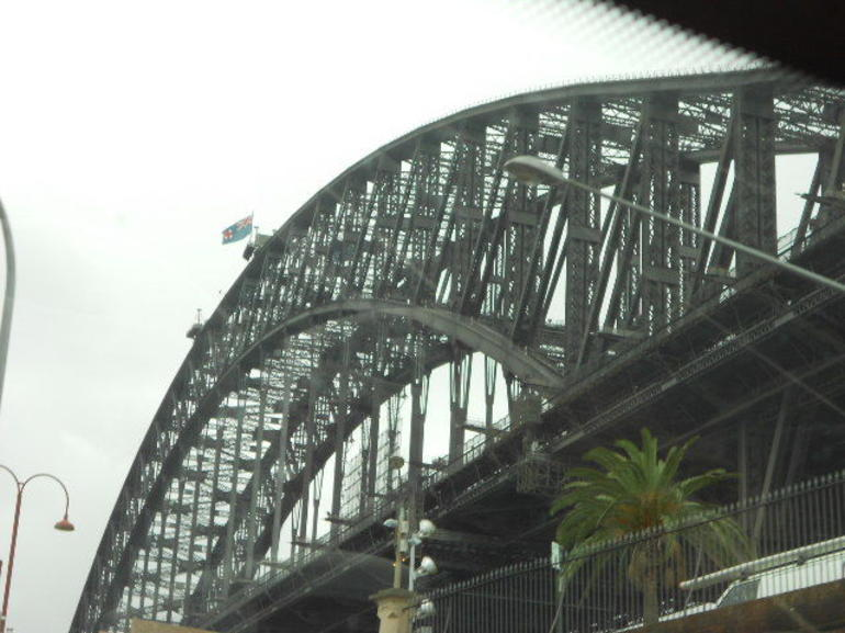 Bridge from below - Sydney
