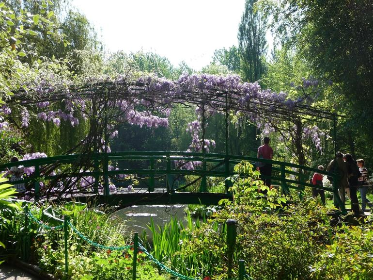 Bridge in the Water Lily Garden - Paris