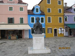Square in Burano , Rose J - May 2013