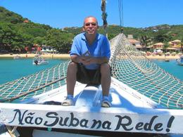 A schooner ride is the best way to see Buzios from the sea. You will never forget it., Ariel V - February 2010