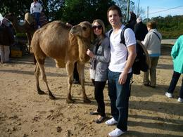 My husband and I with one of the camels. Rides were only 1 Euro and they were more than willing to take a picture of you for small tip., Kevin R - January 2010