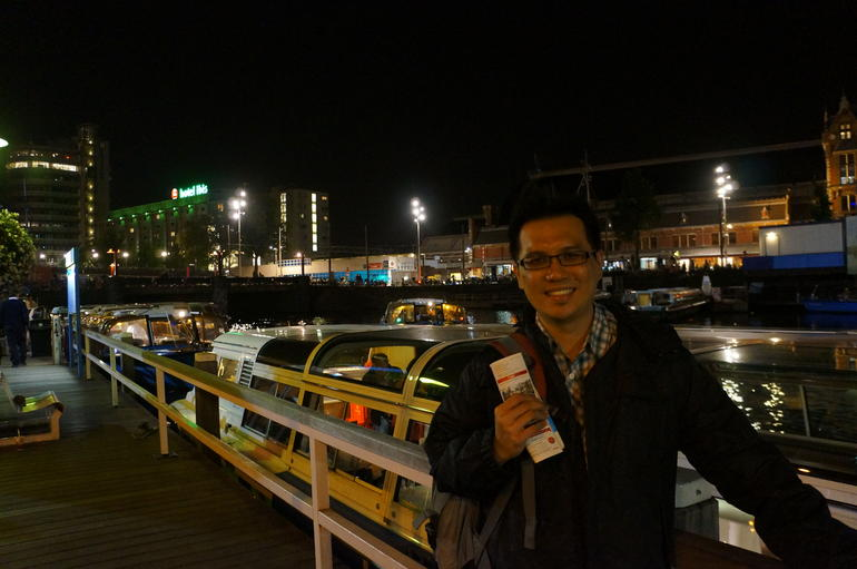 Completed Canal Cruise. - Amsterdam