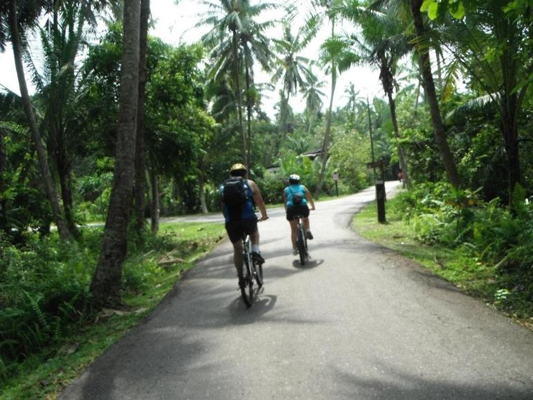 Cycling around Pulau Ubin - Singapore