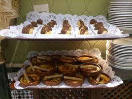 profiteroles and the local crema Catalana, Rosane - August 2013
