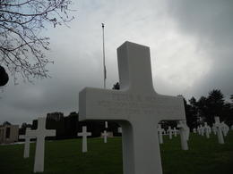 American Cemetery. Giving one's life to save many , Stephanie E - December 2010