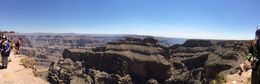 Panorama from Grand Canyon West ledge , Sharon C - July 2015