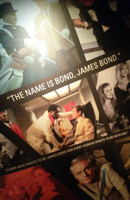 Photos from the Bond exhibit - December 2014