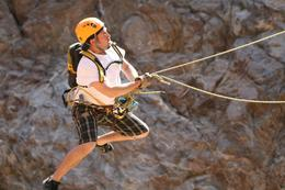 Photo of Los Cabos Los Cabos Canopy Tour Jumping off