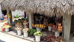 A great looking fruit shop. One of many we past on our travels of the day. , Allan - September 2015