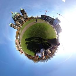 360 view during walking tour , Christopher R - November 2014