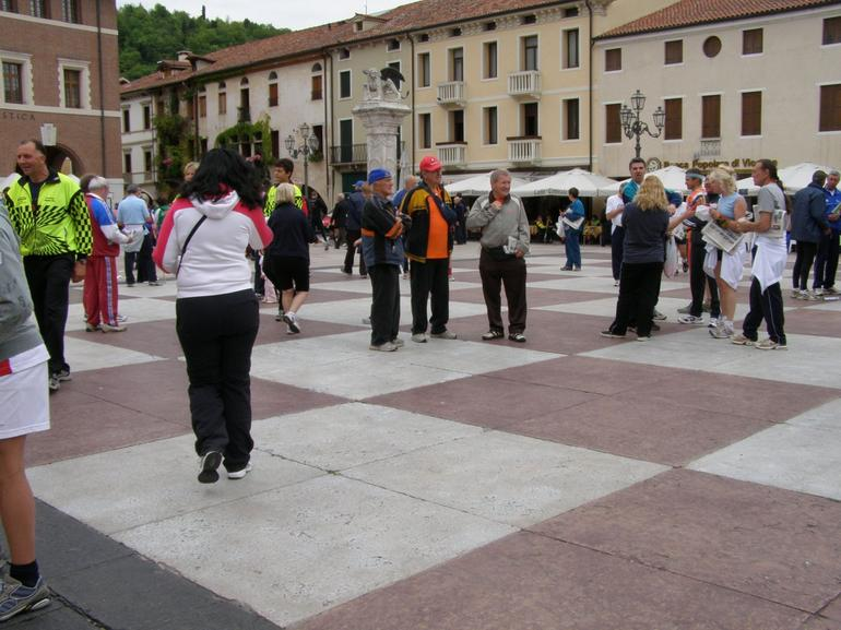 "This is the square where the ""Living Chess Game"" is played every other year."