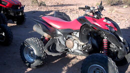 About to hop on this ATV. - March 2012