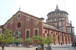 Photo of Milan Milan Half-Day Sightseeing Tour with da Vinci's 'The Last Supper' Piazza Di S Maria Delle Grazie: Place of the Last Supper painting