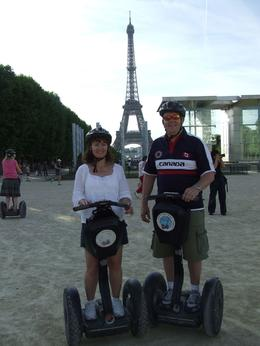 Photo of Paris Paris City Segway Tour Posing for a Picture