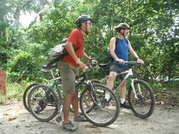 Photo of Singapore Singapore Bike Adventure around Pulau Ubin Taking a rest