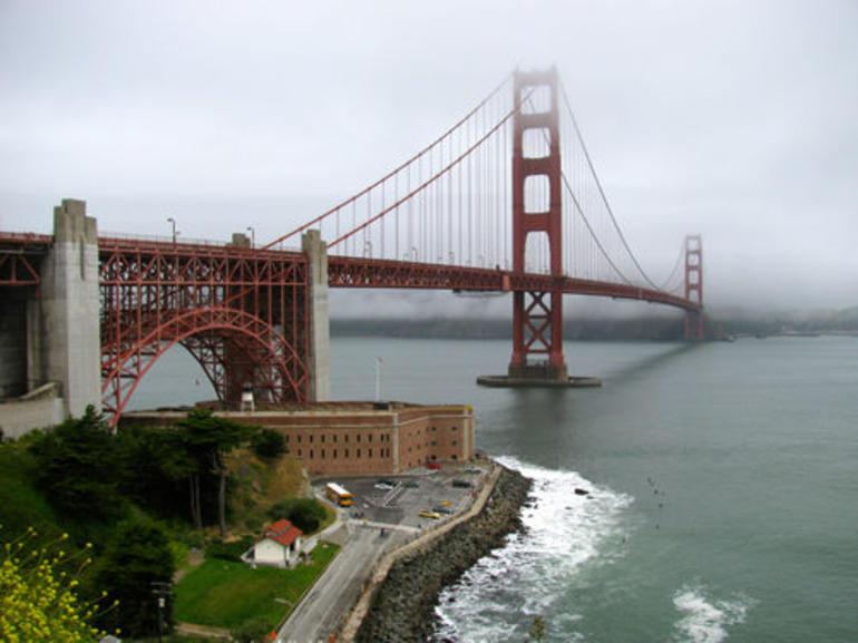 The Golden Gate Bridge - San Francisco
