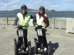 Photo of San Francisco San Francisco Waterfront Segway Tour The happily married couple