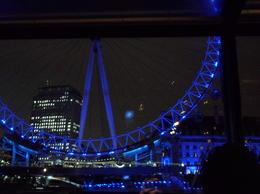 Photo of London London Thames River Dinner Cruise The London Eye from the Boat