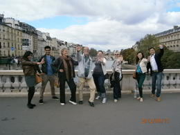 Photo of Paris Paris Walking Tour: Classic Paris The whole group gathered