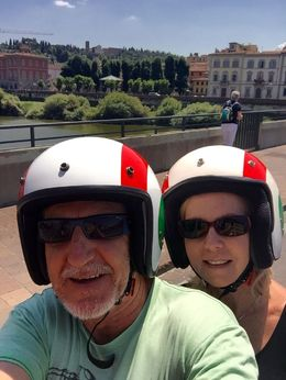 Vespa fun!, Maureen B - June 2015