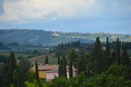 View of San Gimignano from the farm. , Mihai C - August 2015