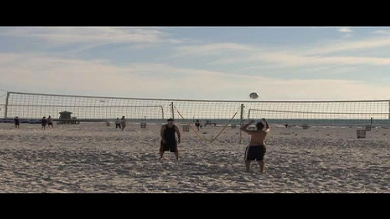Volleyball at Clearwater Beach - Orlando