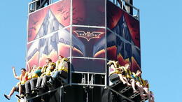 Photo of   Batwing ride, Movie World
