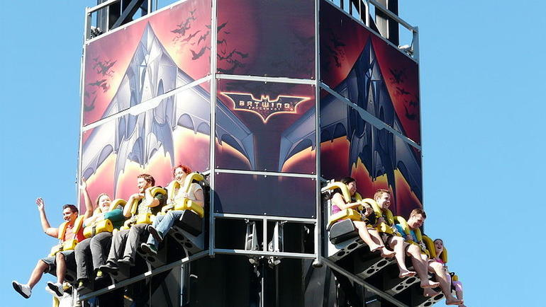 Batwing ride, Movie World - Brisbane