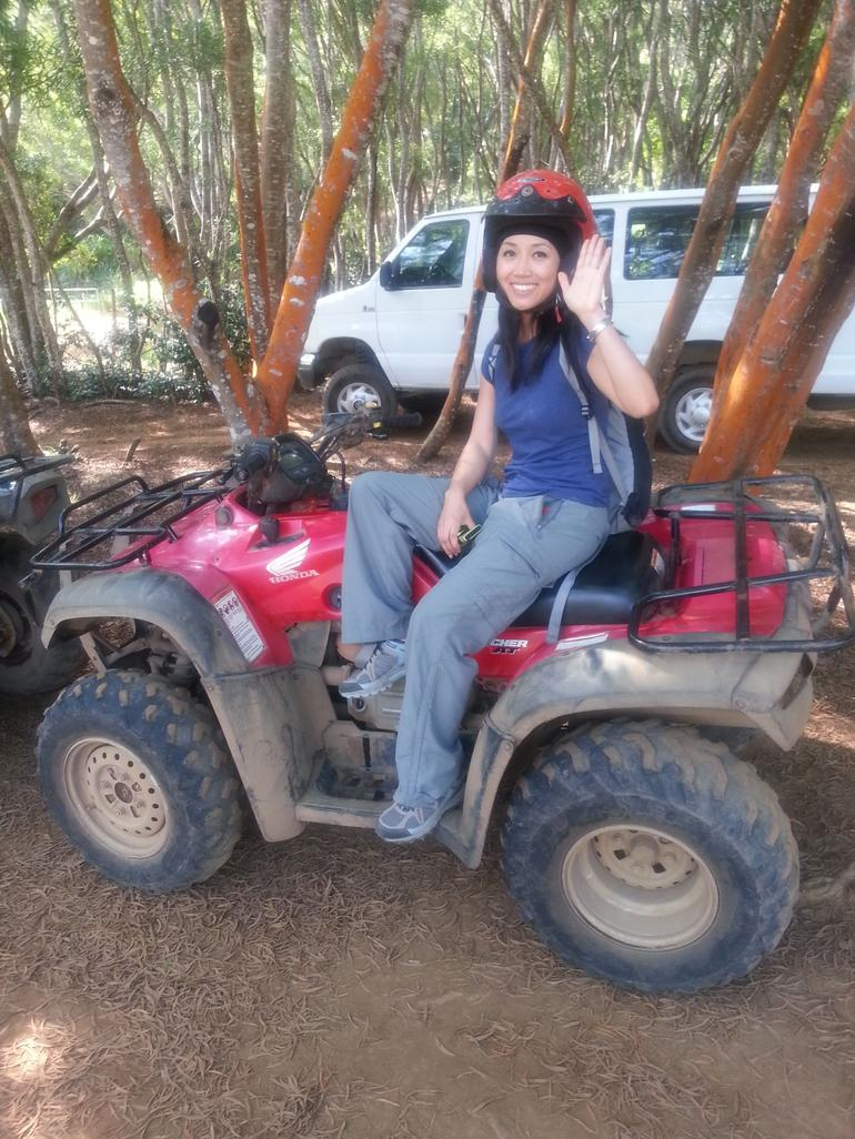 Big Island ATV Tour través Waipio Valley - Isla Grande de Hawái