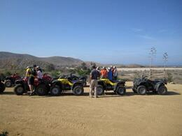 ATV line up., Mo Burns - August 2011