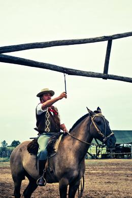 Photo of Buenos Aires Gaucho Day Trip from Buenos Aires: Don Silvano Ranch Gaucho Ring