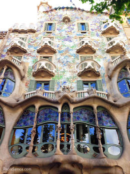 Photo of Barcelona Barcelona Modernism and Gaudi Walking Tour Gaudi's Casa Batllo.