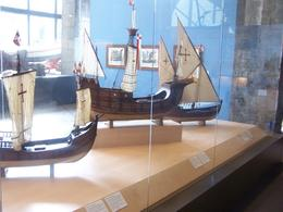 Beautiful models of old ships. Midway through the tour. - November 2008