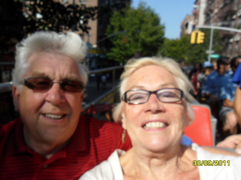 Nancy and Gordon - New York City