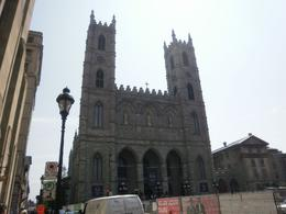Notre Dame Basilica: Be prepared for an entrance fee if you want to go inside. - August 2010