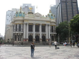 Photo of Rio de Janeiro Corcovado Mountain, Christ Redeemer and Sugar Loaf Mountain Day Tour Opera House.JPG