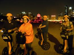 Photo of Chicago Haunted Chicago Segway Tour Our little group
