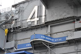 Photo of San Diego USS Midway Museum Outside