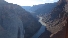 Photo of Las Vegas Grand Canyon West Rim Luxury Helicopter Tour Random shot flying through the canyon