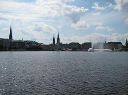 Photo of   Summer on the Alster