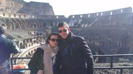 Photo of Rome Skip the Line: Ancient Rome and Colosseum Half-Day Walking Tour Sunny Winters Day in Rome
