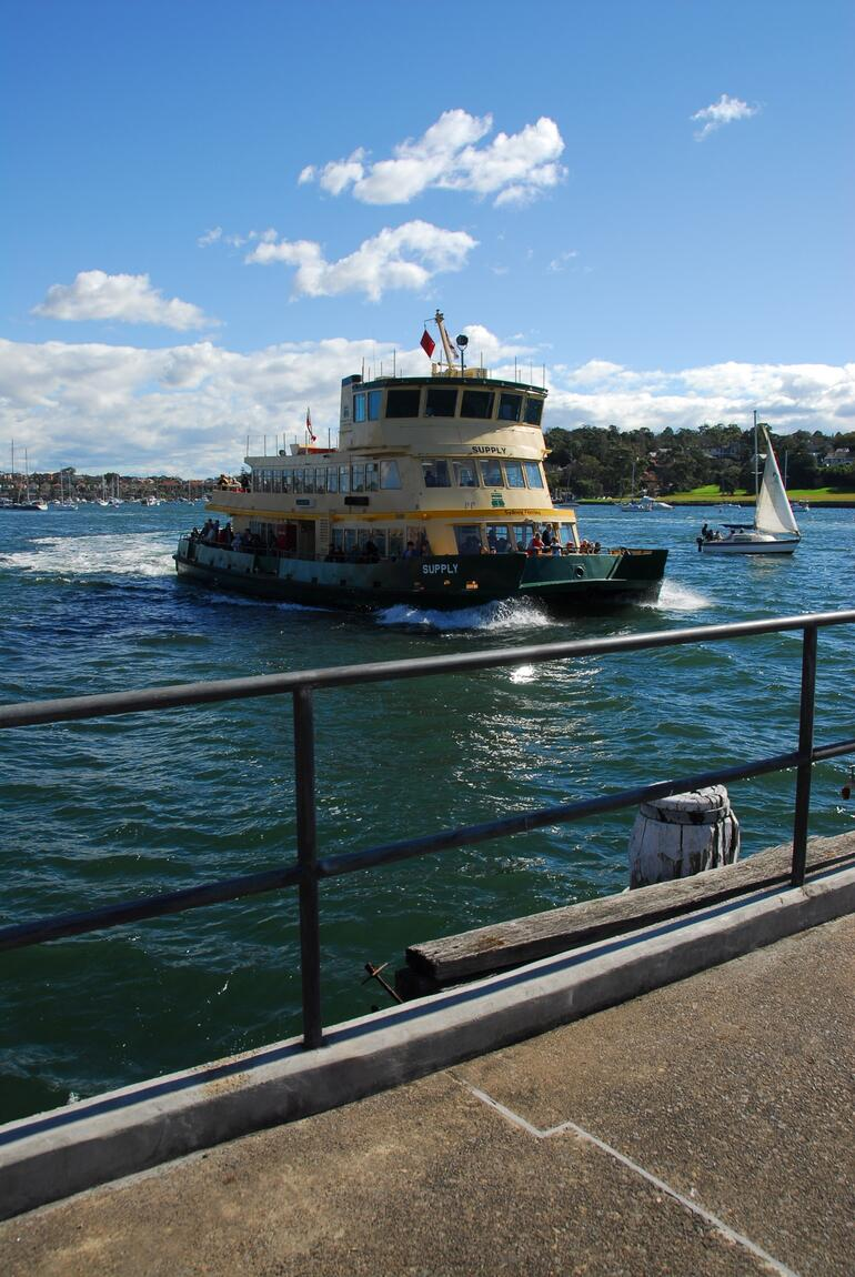 The ferry -