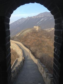 This is a picture of the Great Wall. See? That's the Great Wall there in it. , Mark O - January 2014