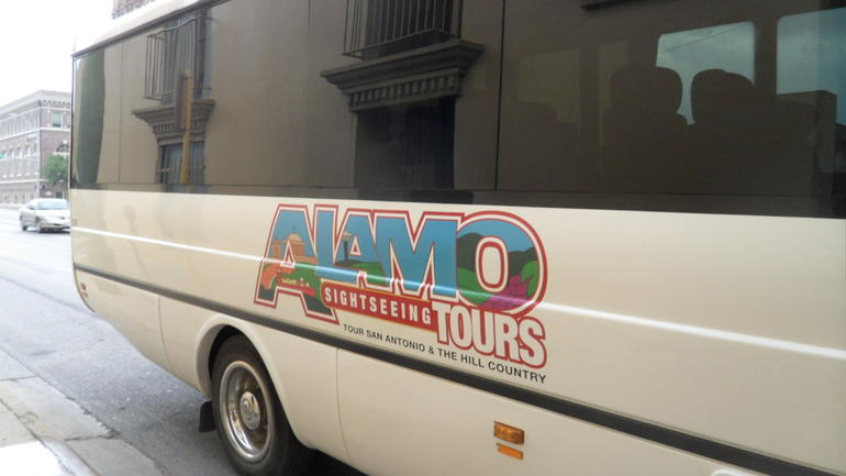 Tour Bus - San Antonio