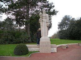 Photo of Bayeux Normandy Beaches Half-Day Trip from Bayeux US Statue